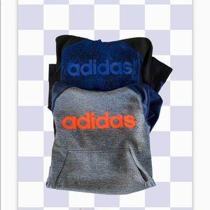 Adidas hooded sweatshirts Lot of 2